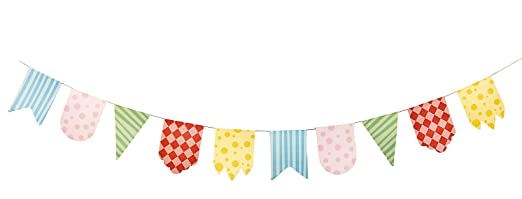 1st Birthday Circus Pennant Banner - Party Decorations & Flags ...
