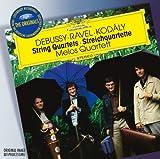 Debussy: String Quartet in G minor, Op.10 / Ravel: String Quartet in F major (1903) / Kodaly: String Quartet No.2, Op.10 (DG The Originals) Melos Quartet