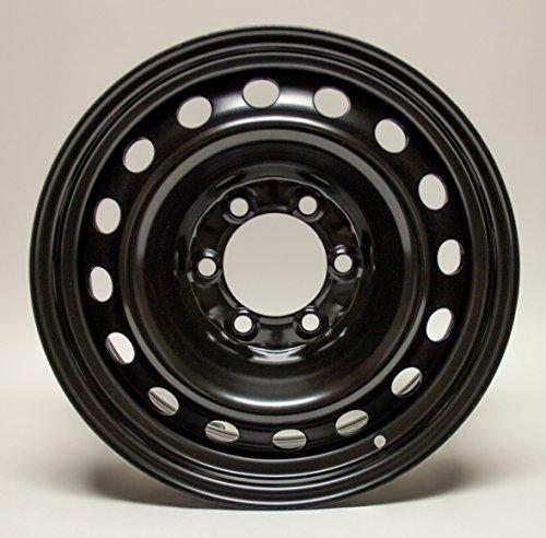 Steel Rim 17X7, 6x139.7, 106, +14, black finish (MULTI APPLICATION FITMENT) X99441N (2015 Chevy Silverado Rims compare prices)