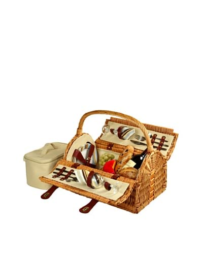 Picnic at Ascot Sussex Picnic Basket for 2
