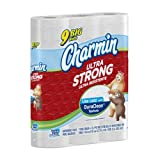Charmin Ultra Strong Toilet Paper 9 Big Rolls (Pack of 4)