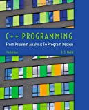 img - for C++ Programming: From Problem Analysis to Program Design book / textbook / text book