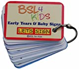 LET'S SIGN Early Years and Baby Signing Card Keyring, Graphics by BSL Sign Language Author Cath Simth (LET's SIGN Series)