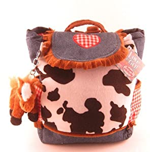 HORSE pony Western denim BACKPACK girls tote bag [Toy]