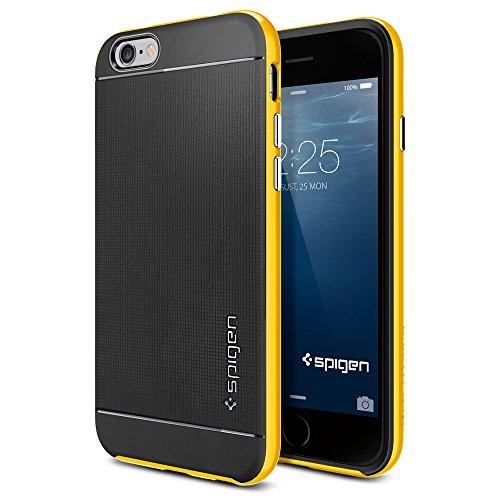 iPhone 6 ケース, Spigen® [ 二重構造 スリム フィット ] Apple iPhone 4.7 (2014) ネオ・ハイブリッド The New iPhone アイフォン6 (国内正規品) (レベントン・イエロー SGP11034)