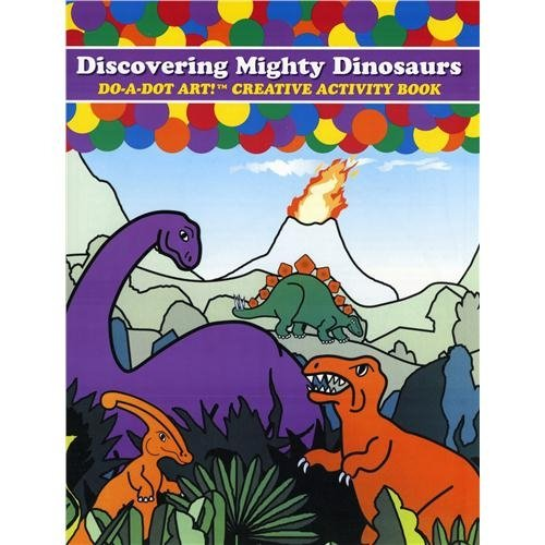 Do A Dot Art Dinosaurs Activity Book
