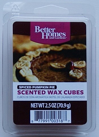 Pumpkin spice love shopswell for Better homes and gardens scented wax cubes