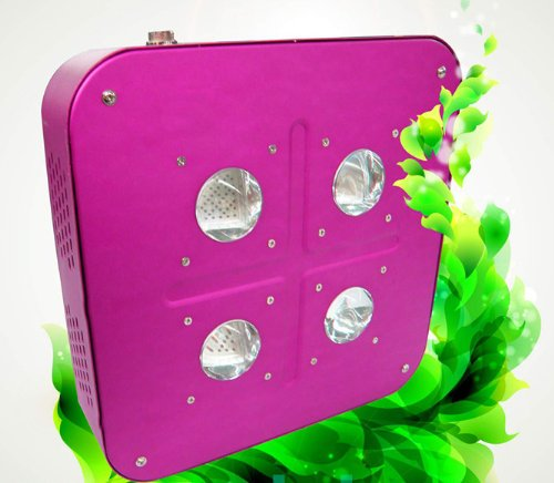 Goledgo Led Plant Grow Light Cob 120W (+ Free Shipping) R/B 5:2 Ac85-265V,Handing(0-5Days)+4Days Arrive U Ship From Factory By Dhl