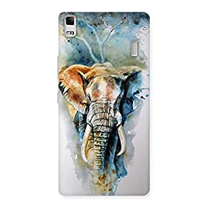 Gorgeous Elephant Art Back Case Cover for Lenovo K3 Note