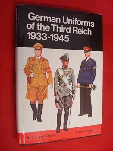 German Uniforms of the Third Reich, 1933-45 (Colour)