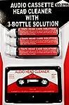 Audio Tape Cassette Head Cleaner w/ 3...