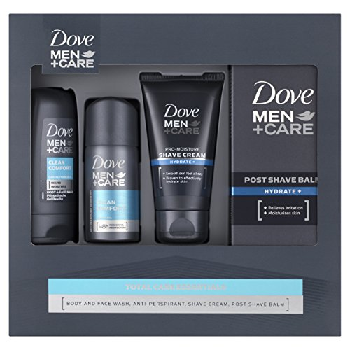 Dove Men+Care Total Care Essentials Gift Set