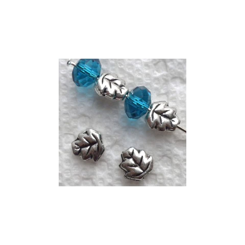 300pcs Tibetan silver little tube spacer beads h2663