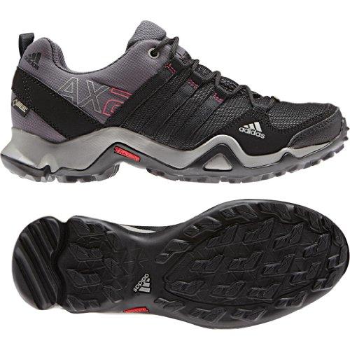 Adidas Outdoor Ax2 Gtx Hiking Shoe - Women'S Carbon/Black/Bahia Pink 12