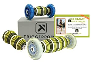 Trigger Point Performance Ultimate-6 Self-Myofascial Release and Deep Tissue Massage Kit with Guidebook (Updated and Revised)