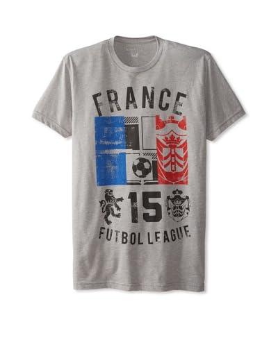 Kinetix Men's Pima France Crew Neck T-Shirt