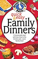 Quick & Easy Family Dinners Cookbook Front Cover