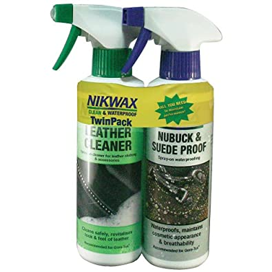 Buy Nikwax Footwear Twin Pack Spray Bottles by Nikwax