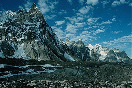 738012-concordia-and-mitre-peak-pakistan-a4-photo-poster-print-10x8
