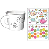 Tea Time Tea Party Decorate Your Own Favor Cups (6 ct)