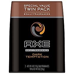 Axe Body Spray Twin Pack, Dark Temptation, 8 Ounce