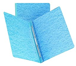 Smead PressGuard® Report Cover, Metal Prong with Compressor, Side Fastener, 350 Sheets/3\