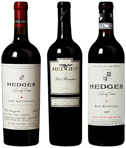 "Hedges Family Estate ""The Hot Vintages Of Washington State"" Mixed Pack, 3 X 750 Ml"
