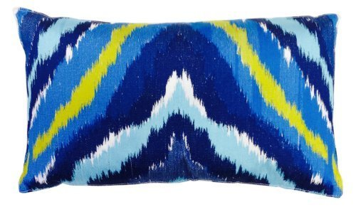 trina-turk-trellis-turquoise-ikat-embroidered-decorative-pillow-20-by-12-inch-blue-by-trina-turk