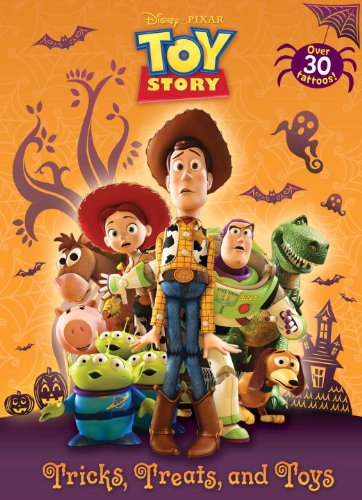 Tricks, Treats, and Toys (Disney/Pixar Toy Story) (Color Plus Tattoos)