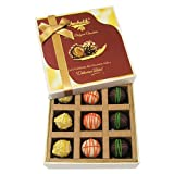 Love Chocolate Gifts - 9pc Scrumptious White Collection Of Chocolates - Chocholik Belgium Chocolates