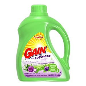 Gain With Freshlock Simply Fresh Liquid Detergent 48 Loads 100 Oz