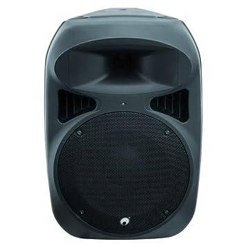 Omnitronic 057370 NKB-215A Cabinet en plastique actif Noir