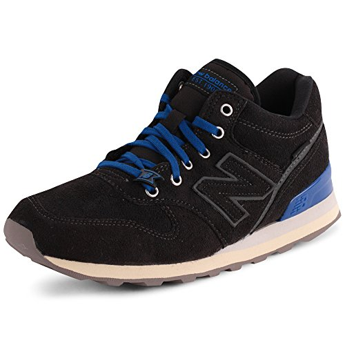 New Balance 996 Womens Suede Trainers Black 7 Us