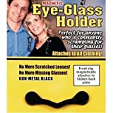 ReadeREST Magnetic Eye-Glass Holder - Gun-Metal Black