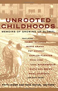 "Cover of ""Unrooted Childhoods: Memoirs of..."