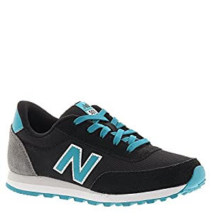 New Balance KL501 Youth Running Shoe,Black/Blue,2 W US Little Kid