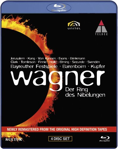 Blu-ray : R. Wagner - Der Ring Des Nibelungen (Boxed Set, 4 Disc)