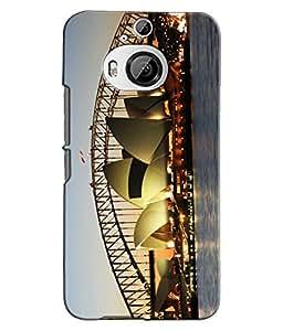 EU4IA Opera House Sydney Pattern MATTE FINISH 3D Back Cover Case For HTC ONE ...