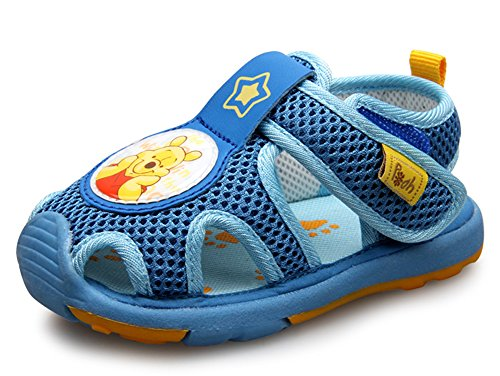 Winnie The Pooh Baby Boys' Mesh Sandals /Toddler'S / Little Kid'S Walking Shoes Navy Style No. X3265 front-217074