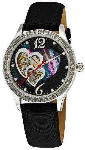 Stuhrling 196A.121B1 Stainless Steel Case Red Calfskin Men's & Women's Watch