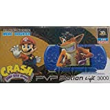Balaji Retails Pvp Tv Game Console Handheld Like Sony PSP 3- Blue