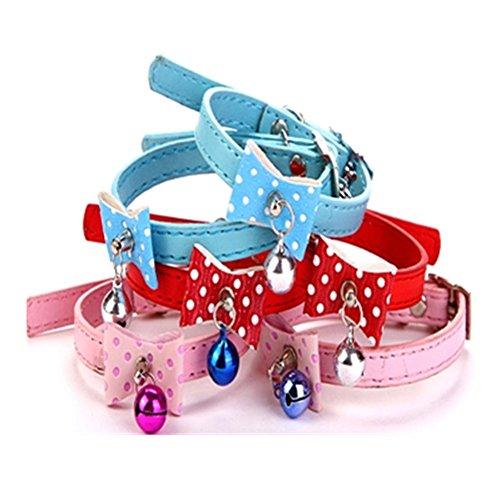 spritechtm-2-pcs-cute-dog-puppy-cat-adjustable-bow-tie-necktie-cute-bowknot-pet-collars-with-bells-c