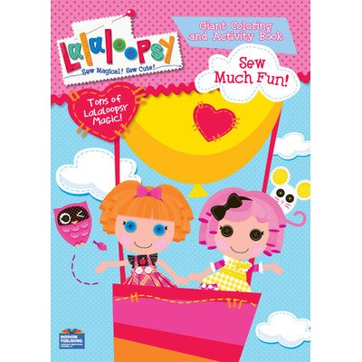 "Lalaloopsy Giant Coloring and Activity Book ""Full of Lalaloopsy Love!"" - 1"