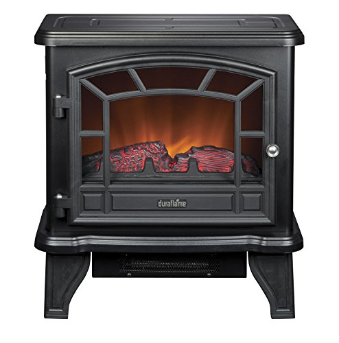 Duraflame DFS-550-21-BLK Maxwell Electric Stove with Heater, Wicked