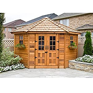 Outdoor Living Today PEN99 Penthouse 9 X 9 Ft Garden Shed Sto
