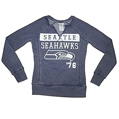 NFL Girls Team Logo Athletic Long Sleeve Sweatshirt - SEATTLE SEAHAWKS