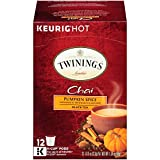 Twinings of London Pumpkin Spice Chai Tea, Keurig K-Cups for Keurig, 12 count (Pack of 6) (Tamaño: 12 Count (Pack of 6))