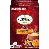 Twinings of London Pumpkin Spice Chai Tea, Keurig K-Cups for Keurig, 12 count (Pack of 6) (Tamaño: 12 Count (Pack of 6))