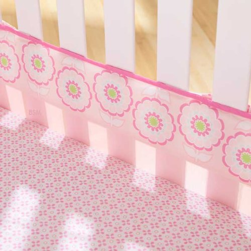 Triboro ZT2235 Soothe time Fresh Air Crib Liner - Flowers Girl - 1