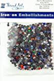 SS16 Assorted Colors Hot Fix Rhinestones 5 Gross (720 stones/pkg) Hotfix Rhinestones